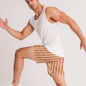 Men's Jogger Shorts Stripes model
