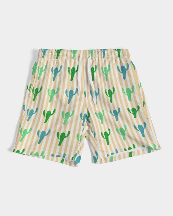 Men's Swim Trunks Cacti