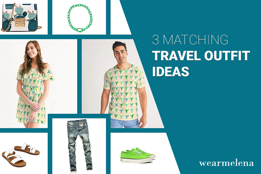 3 Matching Travel Outfits