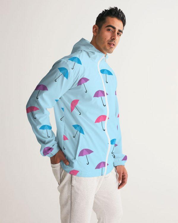 Men's Windbreaker Umbrellas side model