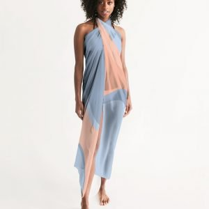 Pareo Blue and Nude