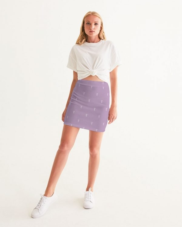 Lilac Women's Mini Skirt