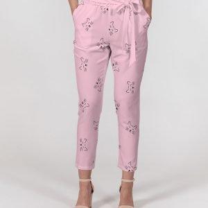 Women's Pink Pants Dreamy Cat front close up